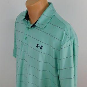 Under Armour Heatgear short sleeve polo shirt.  XL